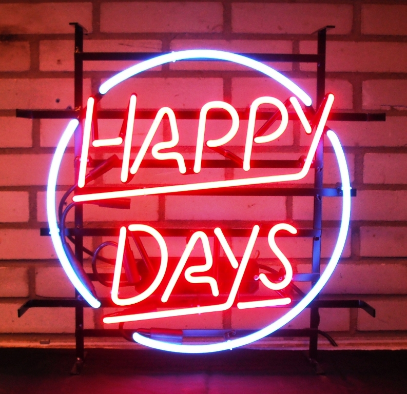Happy Days | Neon Designs